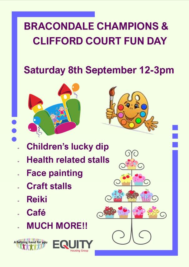 Bracondale&Clifford court open day
