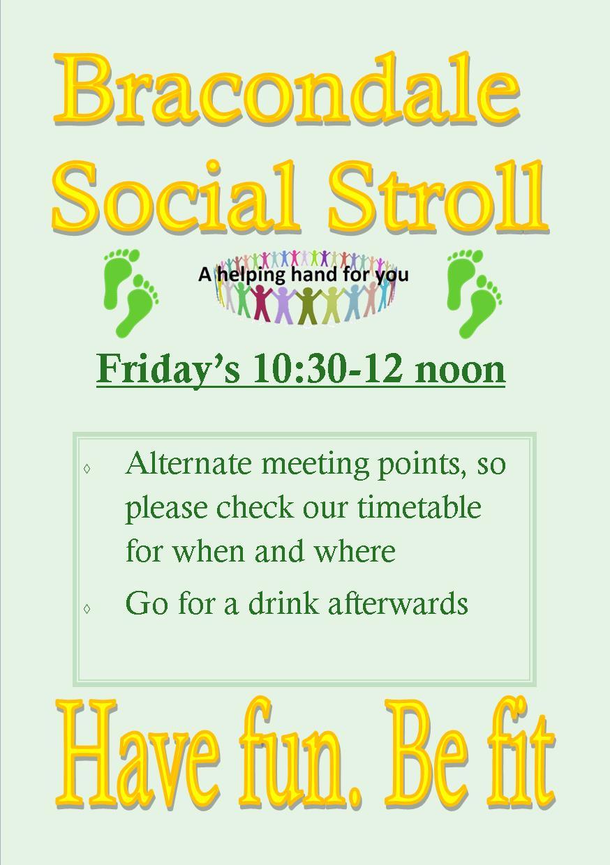 Bracondale Social Stroll